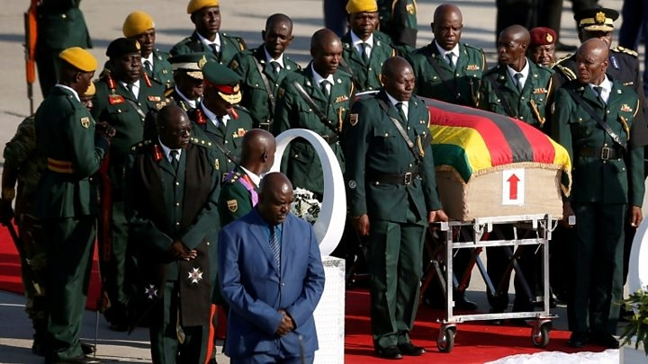 Mugabe family's fury at funeral plans