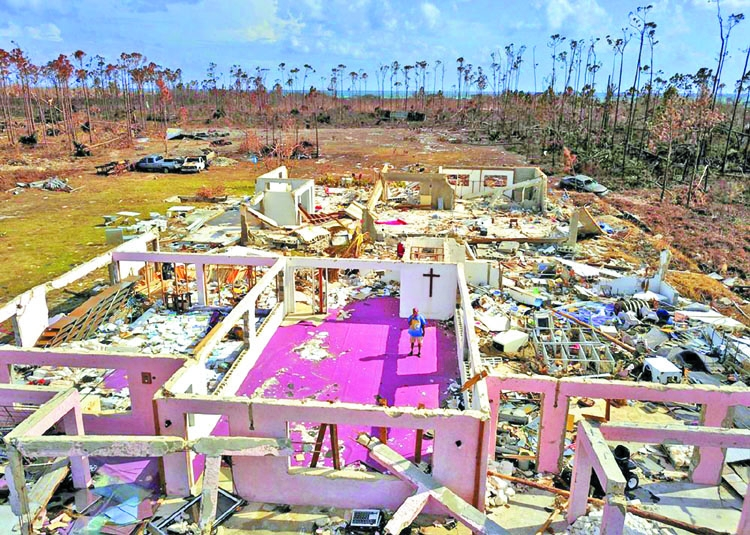 After Dorian, Bahamas tackles massive clean-up