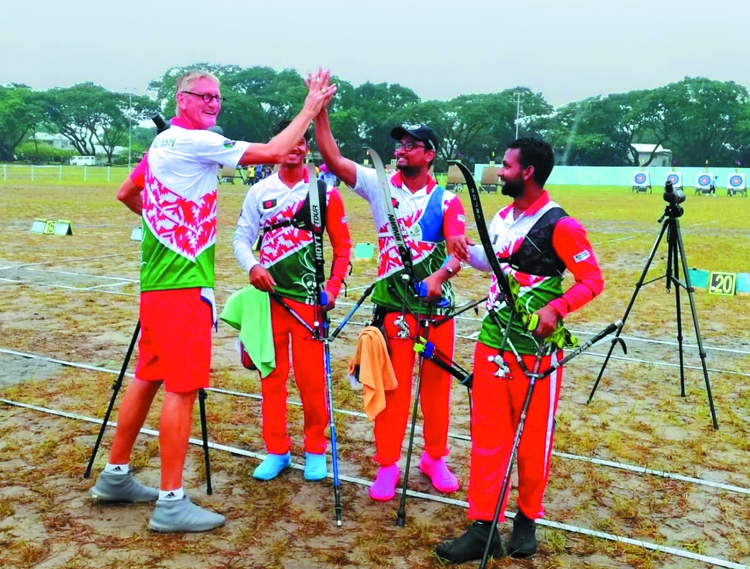 Bangladesh face China in recurve team event final