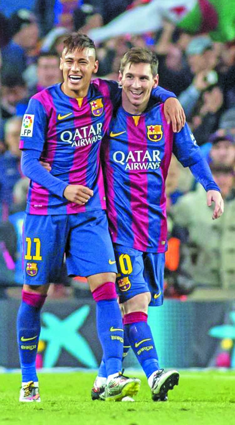 I would have loved Neymar return to Barca: Messi