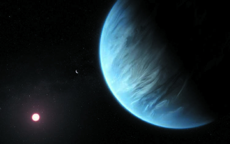 Water found in atmosphere of exoplanet