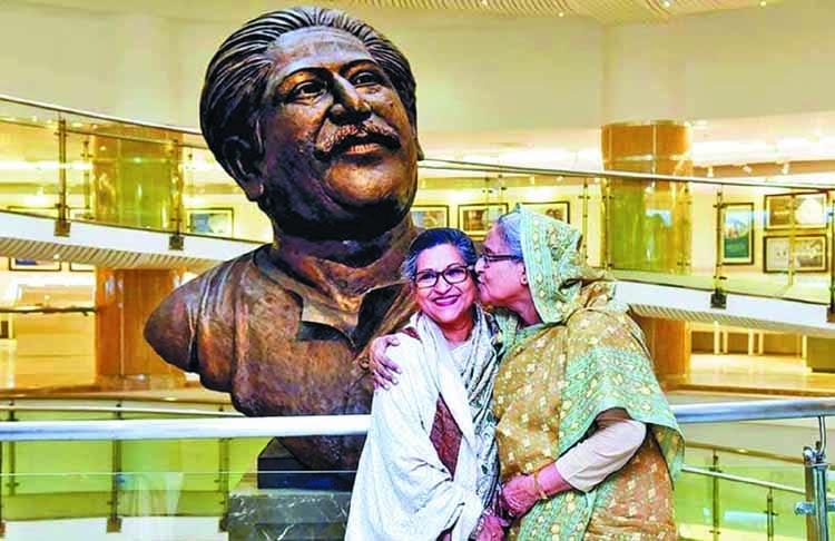 Endless love for Sheikh Rehana