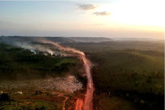 Fires in Brazilian wetlands quadruple in 2019: report