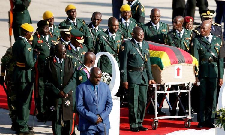 Zimbabwe's Mugabe to be buried at national shrine, family says
