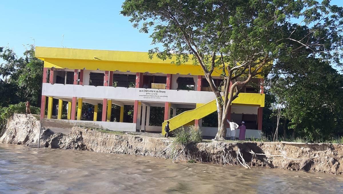 Padma, Jamuna destroyed schools but not spirit