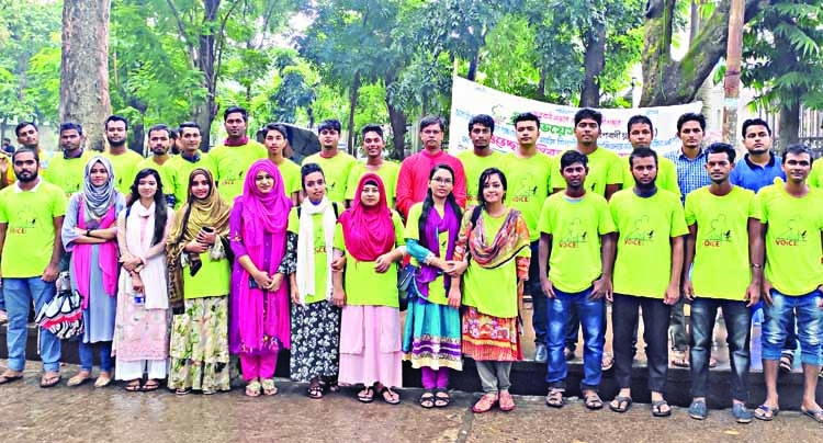 Green Voice on stand-by to help DU admission seekers