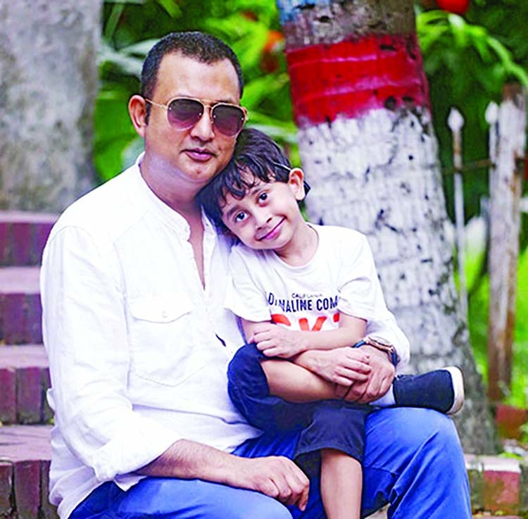 Amin's son Ishan in two new TVCs