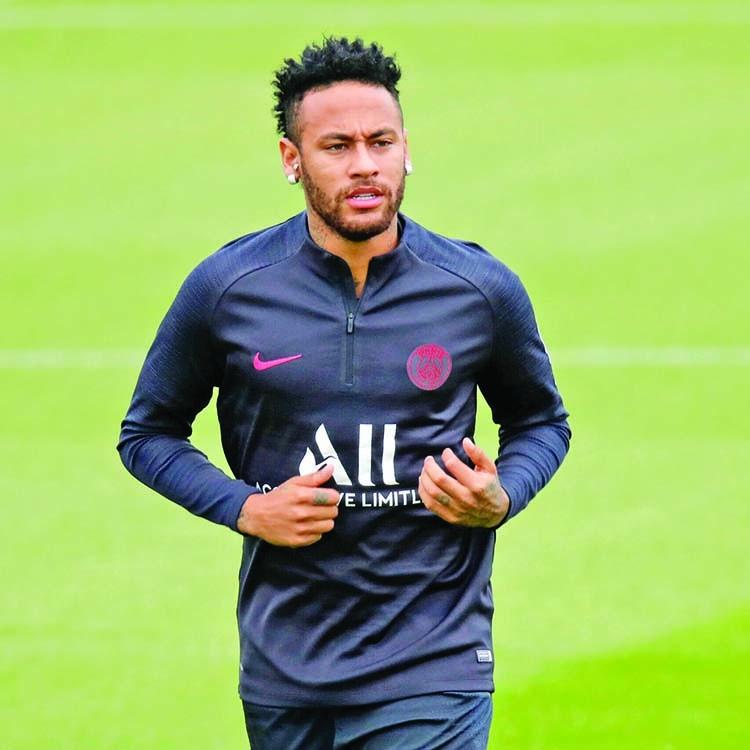 Neymar ready for PSG return