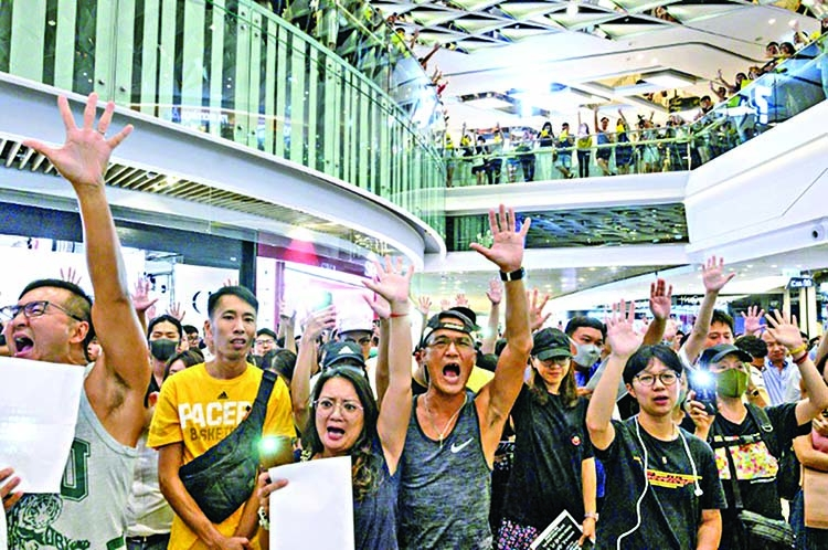 Event cancellations mount in protest-wracked HK