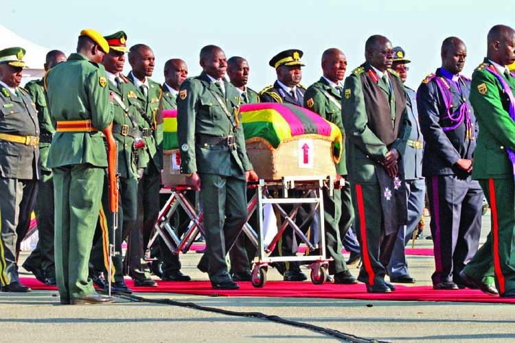 Zimbabwe settles row to give Mugabe hero's burial