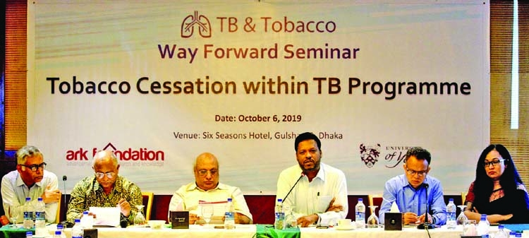 'High time to introduce TB control programs'