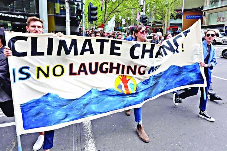 Extinction Rebellion demos begin in Australia