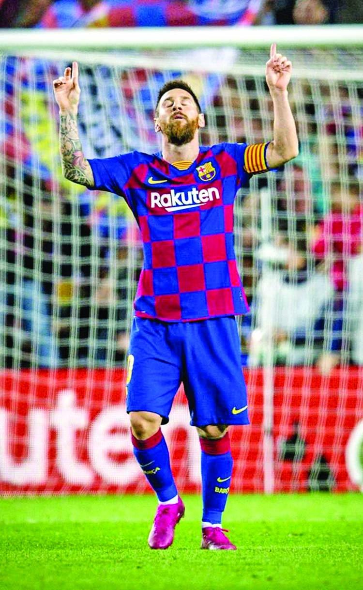 Barca thrash Sevilla