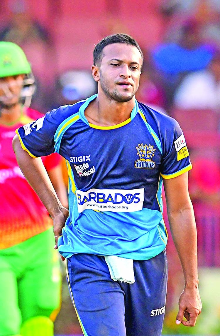 Shakib's Barbados suffer defeat in Qualifier 1