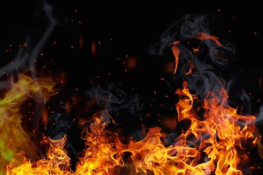 Fire erupts at garbage bin near BNP office