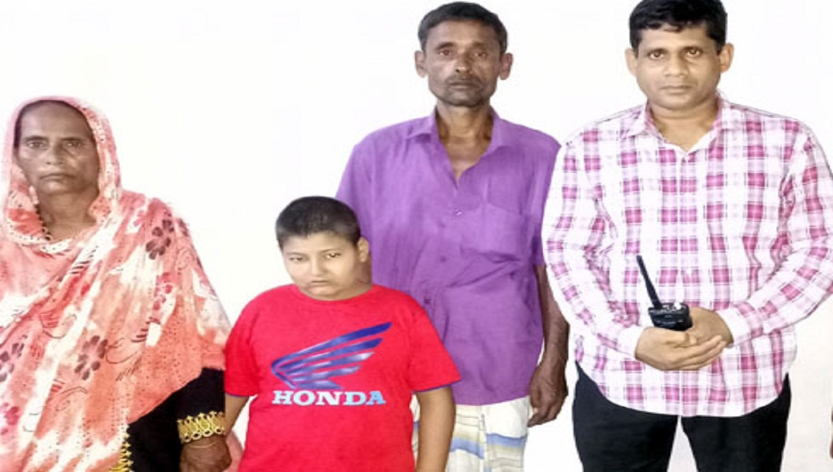 Missing child handed over to family in Sirajganj