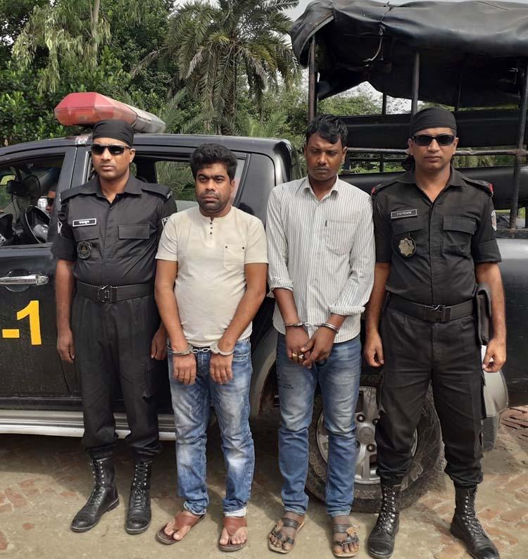 RAB held 2 Yaba dealers in Gazipur