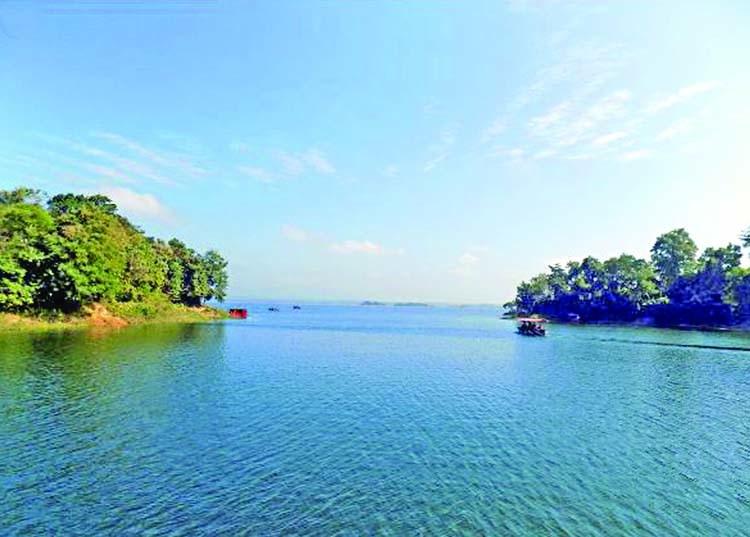 Kaptai lake is a heaven of natural beauty