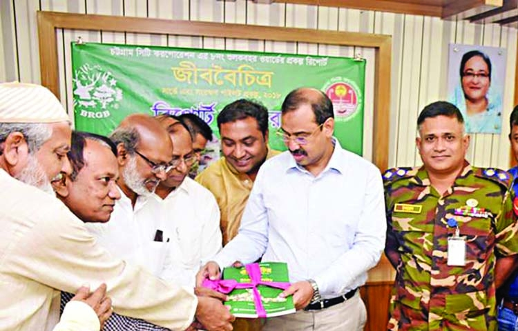 Bio-diversity report handed over to CCC Mayor