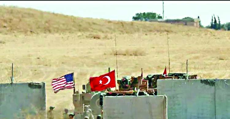 'Syria attack plans complete, Trump delivers threat'