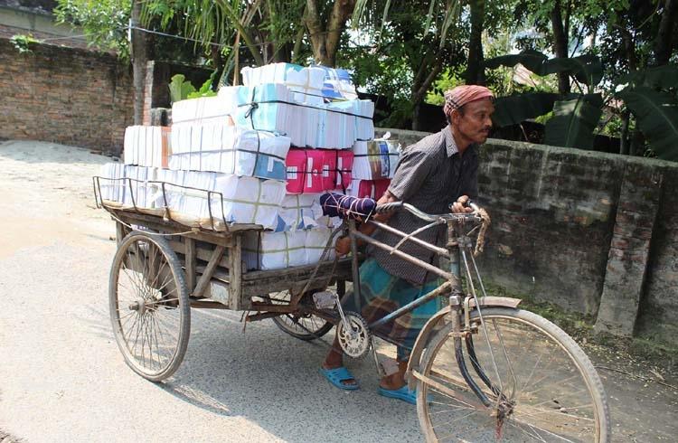 Textbooks for 2020 arrive in schools  of Bogura
