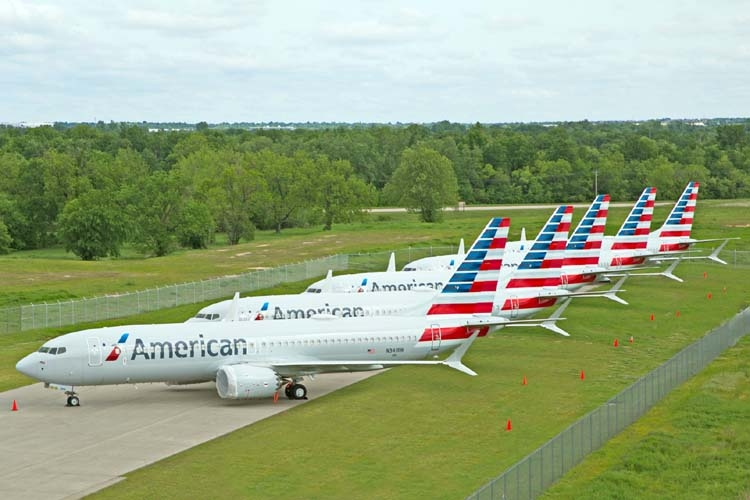 American Airlines cancels Boeing 737 MAX flights