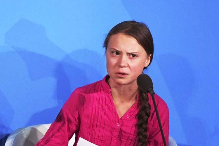 Greta Thunberg's moment