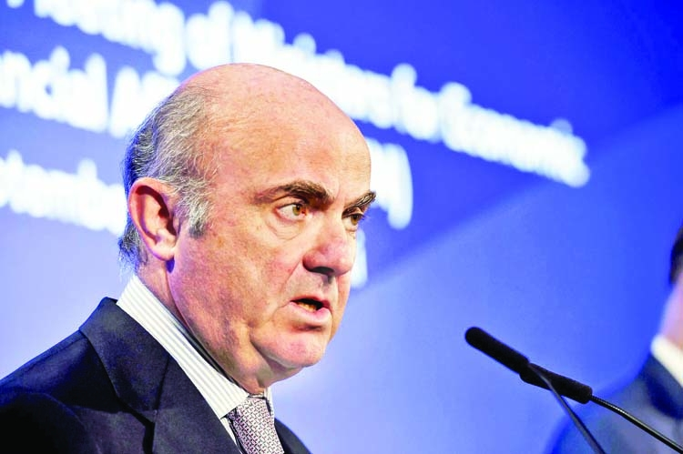 ECB's de Guindos raises bar for further rate cuts