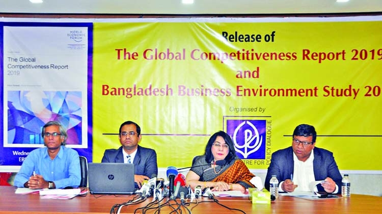 Bangladesh slips two notches in GCI