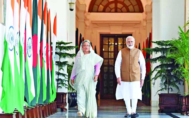 Hasina, Modi want to leave legacies on bilateral ties