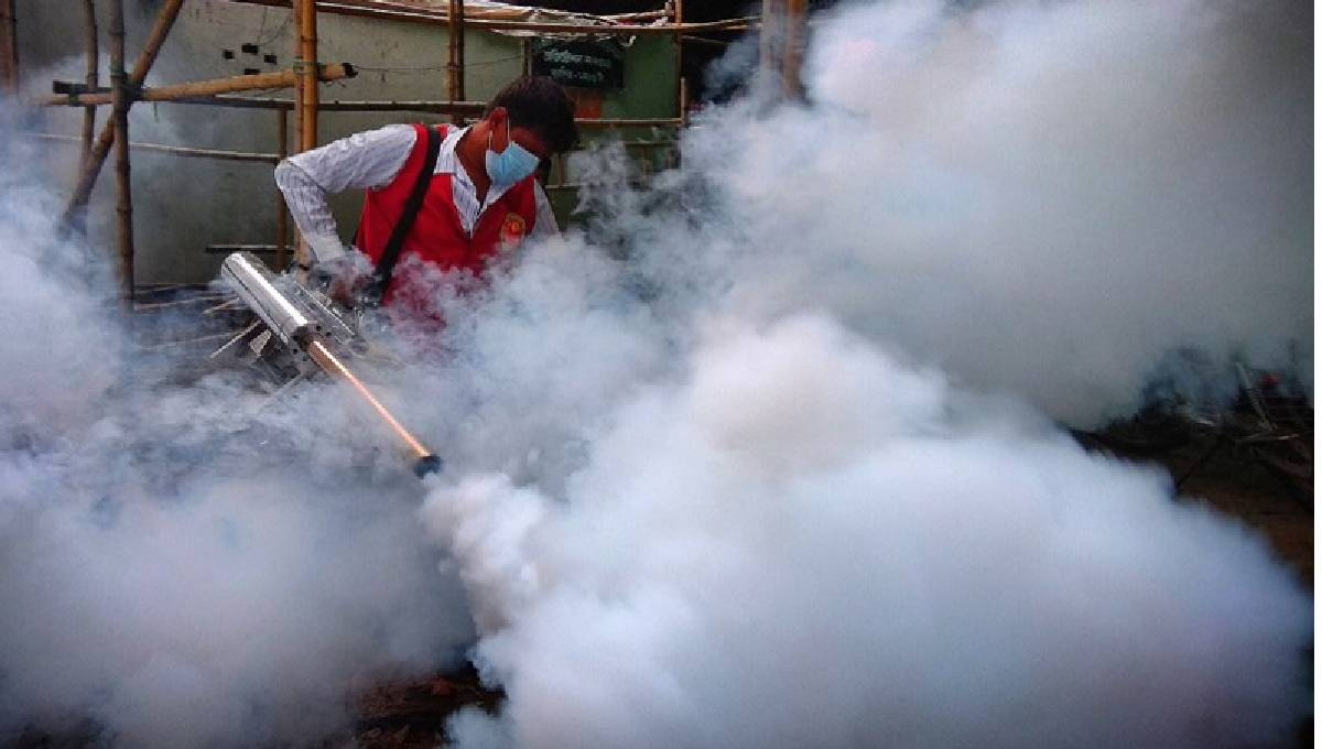 KCC employee invents soundless 'easy fogger' to kill mosquitoes