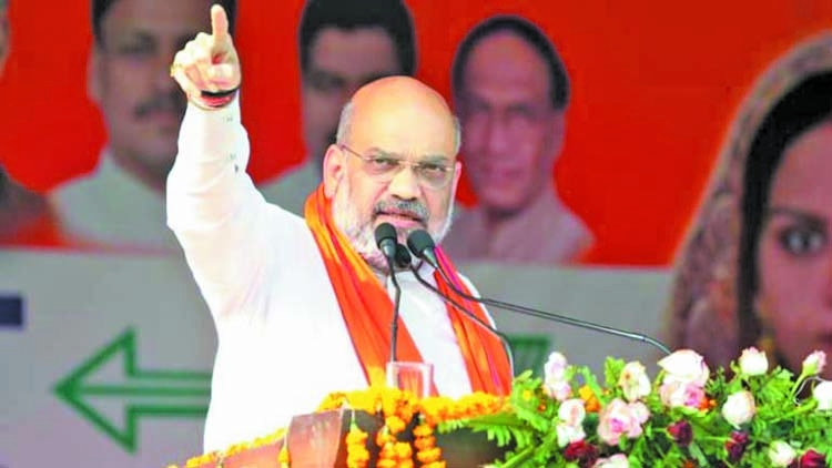 Rahul warned of bloodbath, not a bullet was fired: Amit