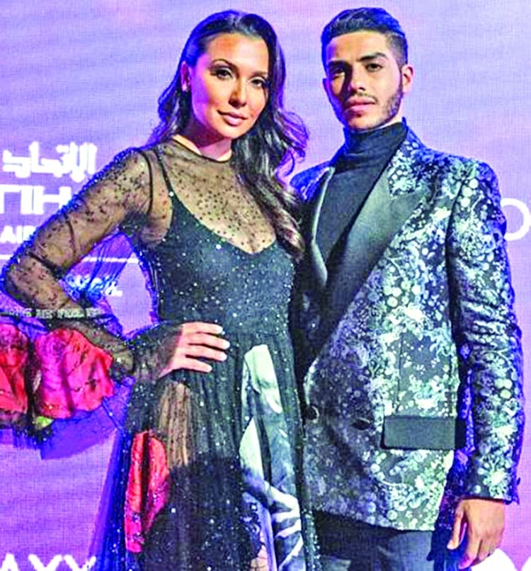 Emily Shah spotted with Mena Massoud