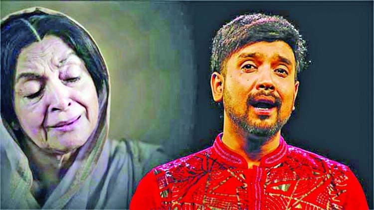 Rajib's filler song on Boishakhi TV