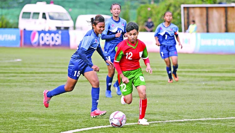 Bangladesh thru' to final