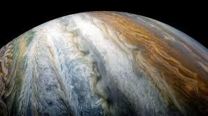 NASA's Juno spacecraft captures Jupiter's swirling clouds