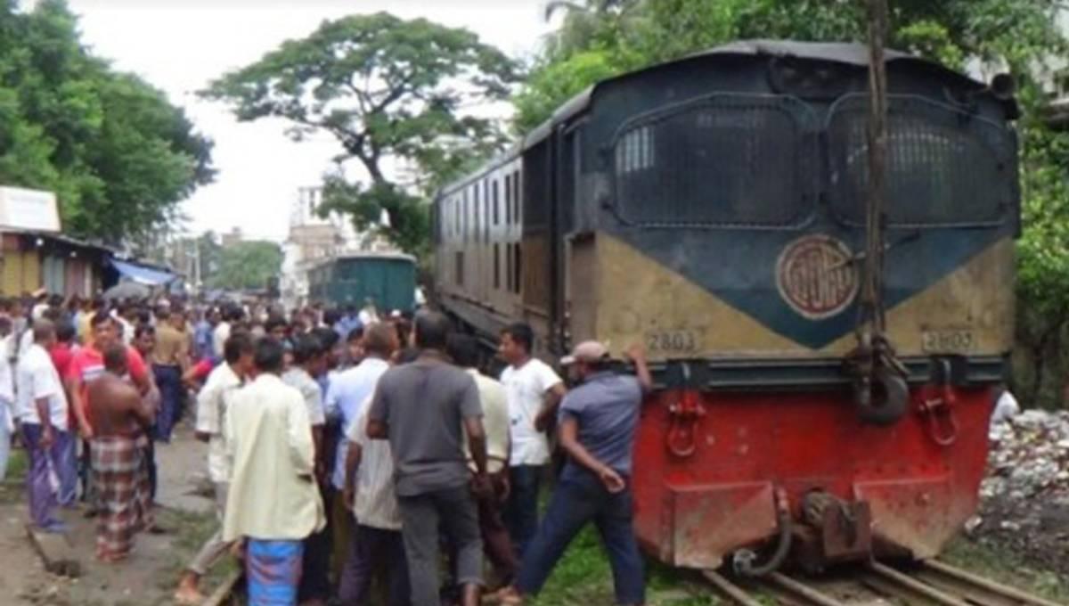 Trains resume on Kishoreganj-M'singh route