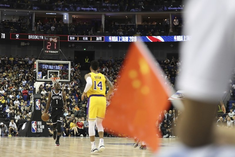 Nationalism over NBA fandom: Fans support 'motherland' China