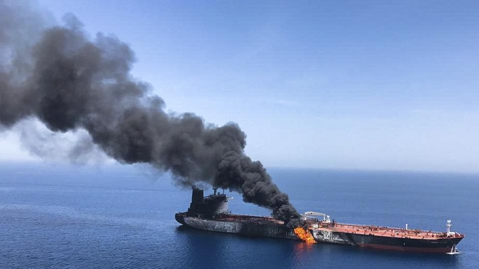 Iranian official says oil tanker attack won't go unpunished