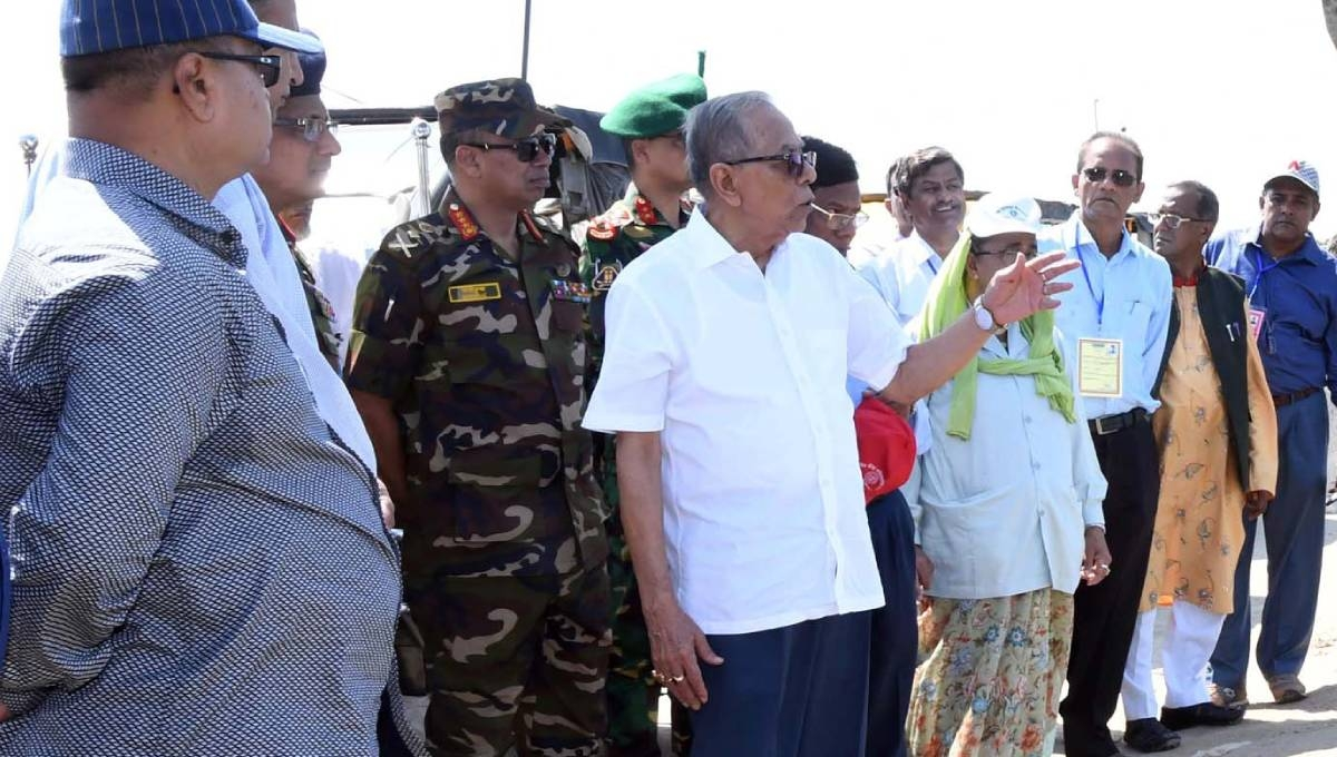 Ensure quality of development works: President
