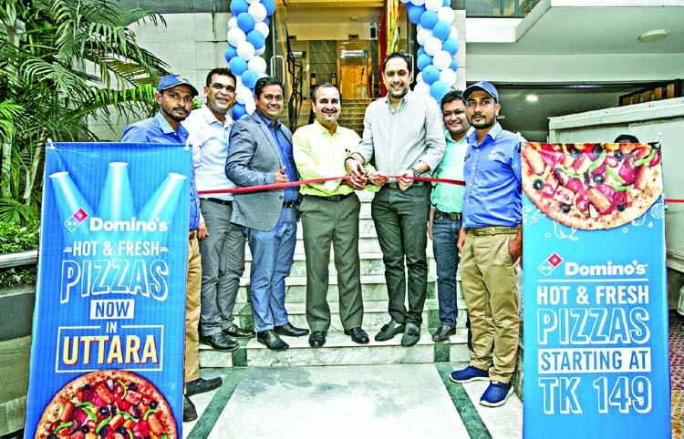 Domino's opens second restaurant