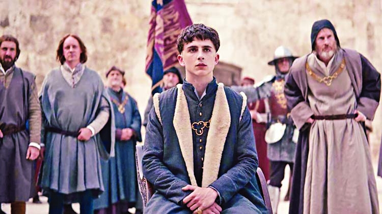 The King: Timothée Chalamet stars in a hunk of medieval hokum