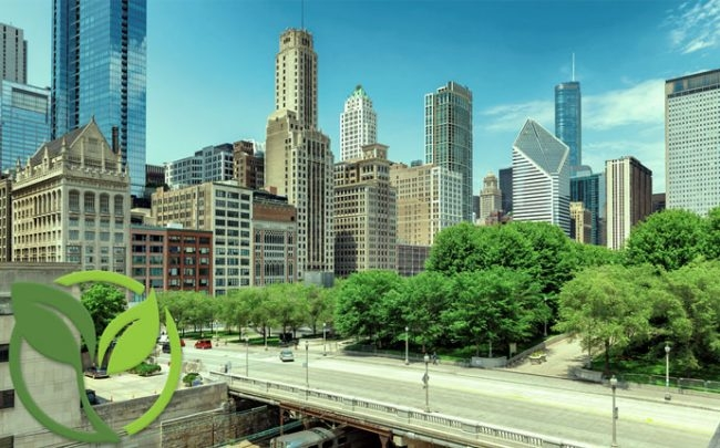 Chicago ranked as greenest place to work in U.S.