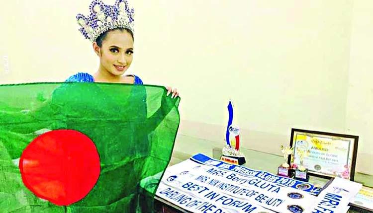 Ayshe crowned 'Mrs Tourism Globe'