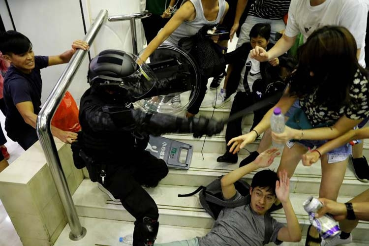 3 people in critical condition as protests rock 'heavy-hearted' Hong Kong