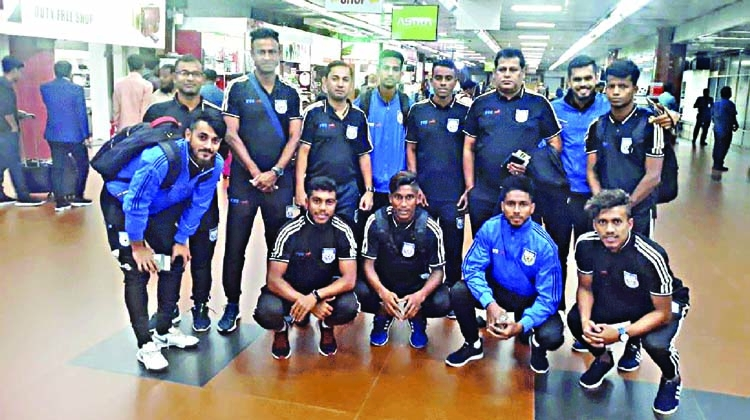 Booters leave for Oman
