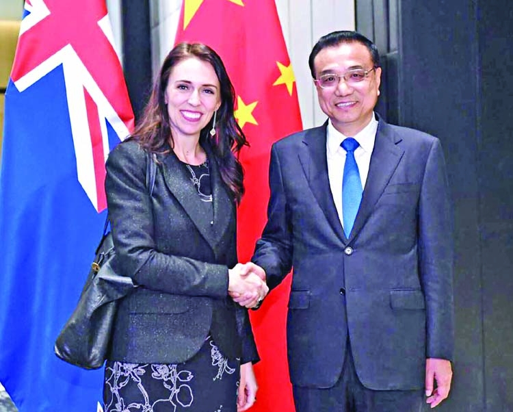 NZ announces upgrade of free trade deal with China