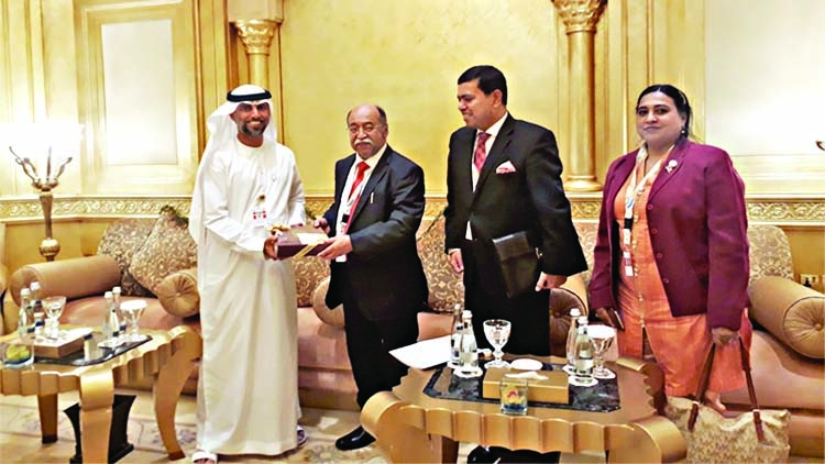BD seeks UAE investment in BCIC projects