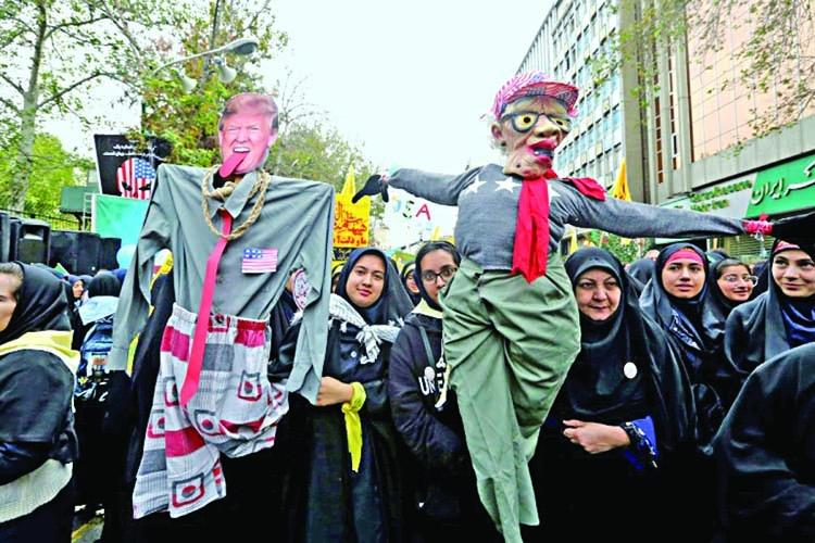 Iran marks 1979 embassy siege with anti-US fervor