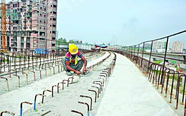 Metro rail tracks to be laid this month